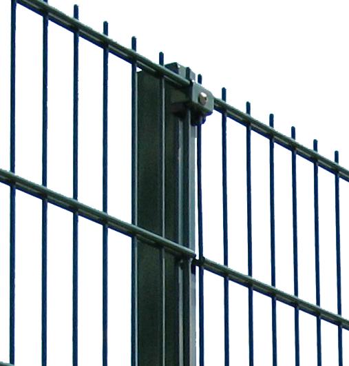 Ограждения для спортивных площадок «Техна-Спорт» Класик d5 4 метра Размеры сеточного полотна 2030х2500
