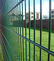 Ограждения для спортивных площадок «Техна-Спорт» Класик d5 4 метра Размеры сеточного полотна 2030х2500, фото 3