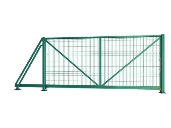 Откатные ворота Техна-Класик без автоматики  Высота 1680 Ширина проема 4500
