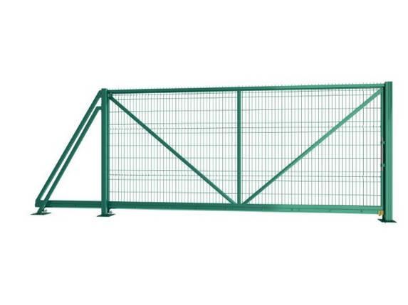 Откатные ворота Техна-Класик без автоматики  Высота 1680 Ширина проема 4500, фото 2