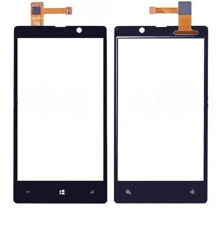 Сенсор (тачскрин) Nokia Lumia 820 Black