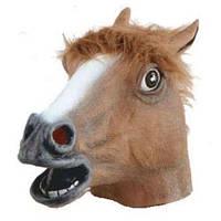 Маска лошади / голова коня BAZ Коричневый (1250)
