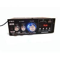 Усилитель UKC AK-699D MP3 FM 220 В / 12 В Черный (3971)