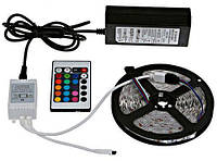 Светодиодная LED лента 3528 RGB многоцветная 5 метров (R0049)
