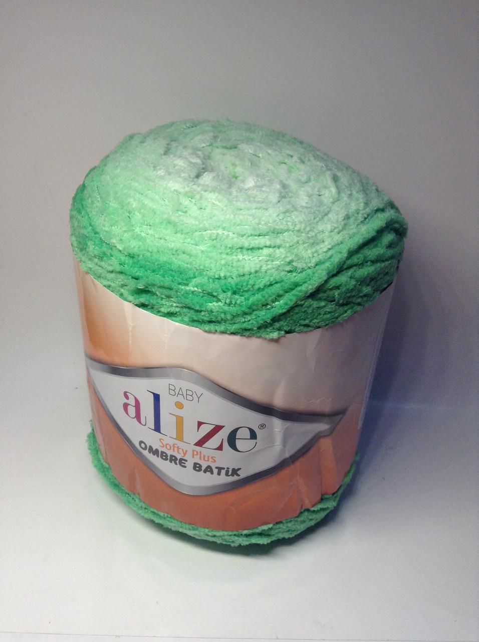 Пряжа  Softy plus ombre batik (плюшевая)