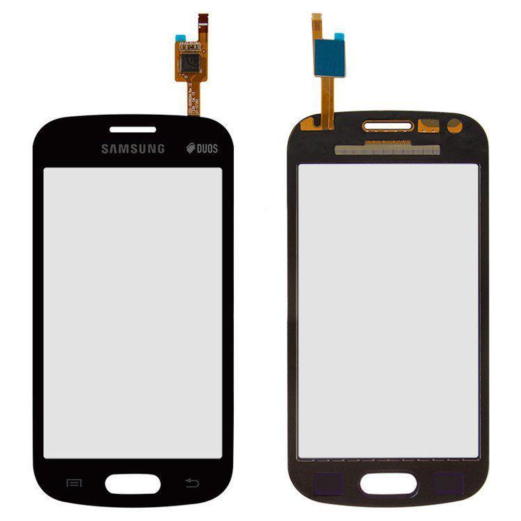 Сенсор (тачскрин) Samsung Galaxy Trend S7390, S7392 (original) Black
