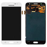 Дисплей (экран) для телефона Samsung Galaxy J5 Duos J500F, J500H, J500M (OLED, high copy) + Touchscreen White