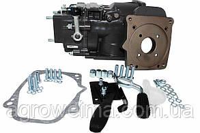 КПП WM1100A-6 (без сцепл)+плита для двиг+Ручки перек КПП и ВОМ,щитки, крепеж.