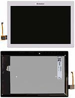 Дисплей для планшета Lenovo Tab 2 A10-70F, A10-70L + Touchscreen White