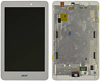 Дисплей для планшета Acer Iconia Tab A1-840FHD + Touchscreen with frame White