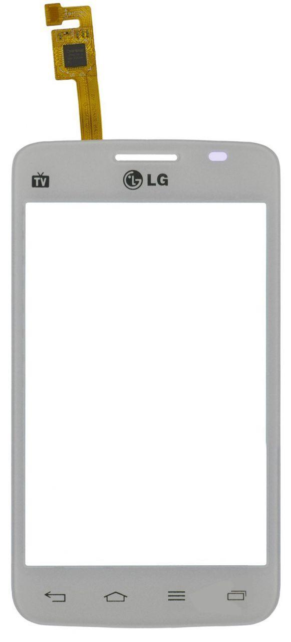 Сенсор (тачскрин) Lg Optimus L4 Dual Sim E445 (original) White