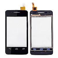 Сенсор (тачскрин) Alcatel One Touch 4007 Pop C1, 4010, (4010D, 4010A, 4010X) Black