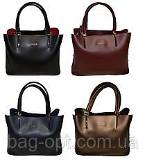 Женская сумка черная Zara ( 23*30*13 см)