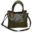 Женская сумка черная Zara ( 23*30*13 см), фото 2