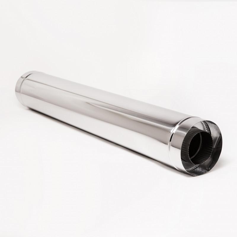 Дымоход Витан нержавейка в нержавейке длина 1 м d130/200 мм