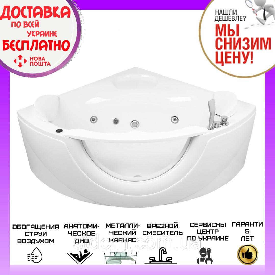 Ванна с гидромассажем 150x150 см Volle 12-88-103 белая
