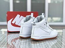 Высокие кроссовки Nike Lunar Force 1,белые, фото 3