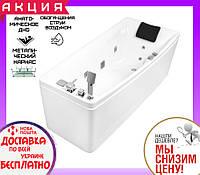 Гидромассажная ванна 170x75 см Volle 12-88-102 R правосторонняя