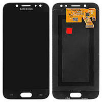 Дисплей (экран) для телефона Samsung Galaxy J5 J530 2017, J530F (OLED, high copy) + Touchscreen Black