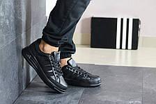 Мужские кроссовки Adidas ilie nastase,черные, фото 2