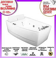 Ванна гидро-аеро массажная Volle 12-88-100 Lux левосторонняя