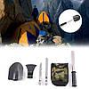 Туристический набор 4в1 (лопата/нож/пила/топор) - изготовлен из высококачественной стали, компактный, удобный
