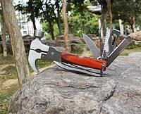 Мультитул 11в1 - многофункциональный, нержавеющая сталь, легкий складной дизайн, фото 1