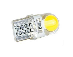 Лампа автомобильная светодиодная ZIRY T10 w5w LED Cob Chip, белая