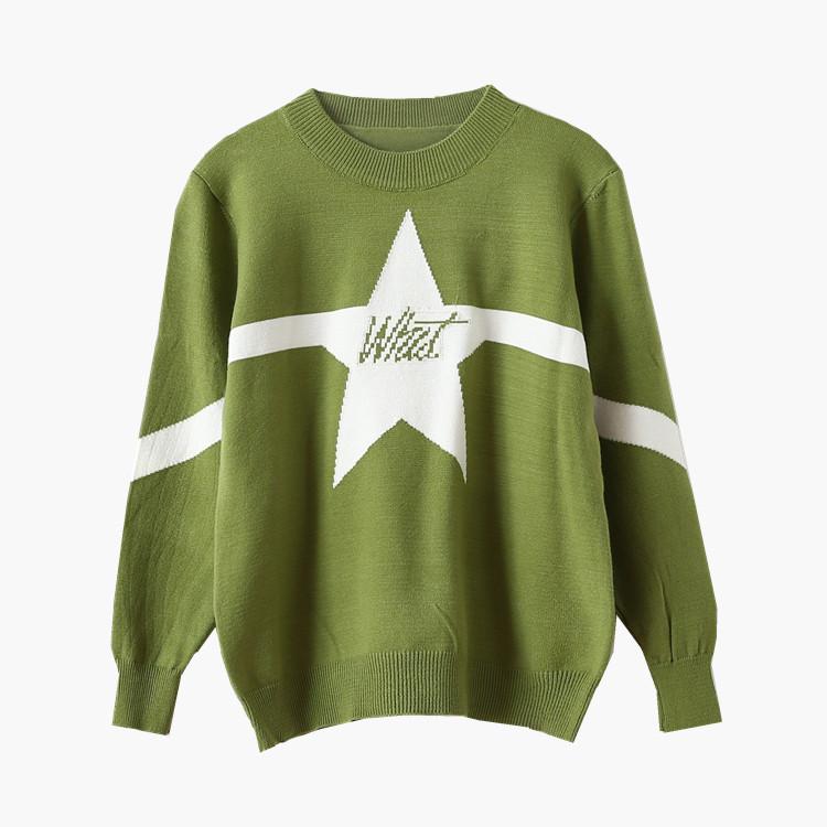 Стильный свитер вязаный 44-46 (в расцветках)