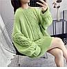 Оверсайз зимний свитер женский 42-46 (в расцветках), фото 2