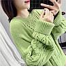 Оверсайз зимний свитер женский 42-46 (в расцветках), фото 9