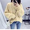 Оверсайз зимний свитер женский 42-46 (в расцветках), фото 5