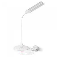 Настольная умная лампа MAXUS DKL 8W (трансформ., аккум., таймер, димм., темп.) белая  1-MAX-DKL-001-05