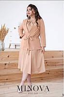 "Платье с кардиганом больших размеров "" Платье + кардиган "" Dress Code, фото 1"