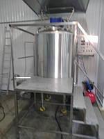Котел пищеварочный кпэ-600 с мешалкой вакуумный масляный, фото 1