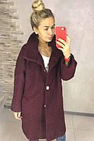 Женское пальто букле