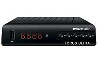 Cпутниковый ресивер тюнер World Vision Foros Ultra T2/C/S2