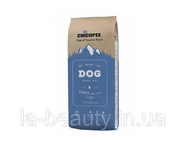 Корм для щенков Premium Pro Nature Line (PNL) Chicopee Puppy Lamb & Rice (Ягненок и рис), 20 кг