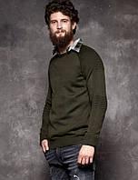 """Джемпер мужской молодежный размеры M-2XL (2цвета) """"STRONG"""" купить недорого от прямого поставщика"""