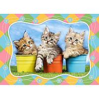 Пазлы для детей Три котенка на 60 элементов Сastorland