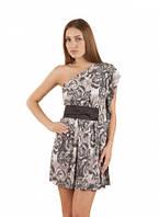Туника летняя молодежная масло ткань, платье серое повседневное, туника молодежная красивая, фото 1