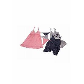 Домашняя одежда U.S. Polo Assn - Сарафан и стринги 62000 серый, 36 р. S