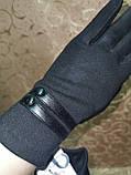 Трикотаж с сенсором женские перчатки для работы на телефоне плоншете (только ОПТ), фото 3