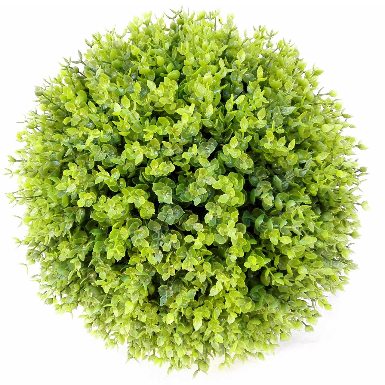 Искусственный шар самшит зеленый