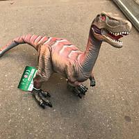 Игрушка парк юрского периода динозавр Велоцираптор Бооьшой 39 см, фото 1