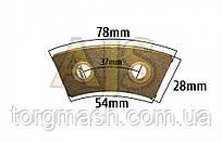 Накладка на диск сцепления керамическая №2