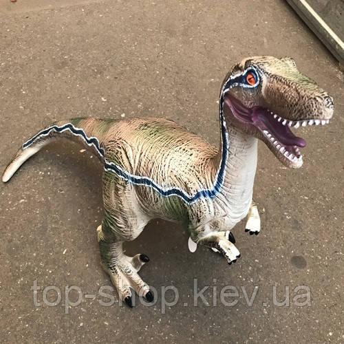 Іграшка парк юрського періоду динозавр Велоцираптор Бооьшой 39 см