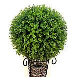 Искусственный шар самшит зеленый, фото 2