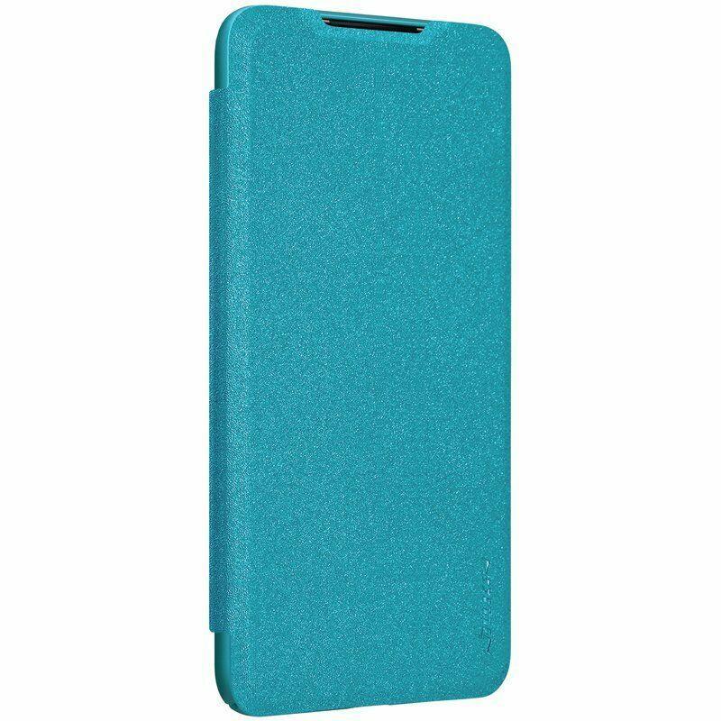 Nillkin Xiaomi Mi CC9 - Sparkle Leather Case Blue Чехол Книжка