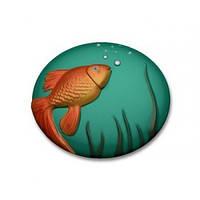 Пластиковая форма для мыла Ideal Brand Рыбка золотая